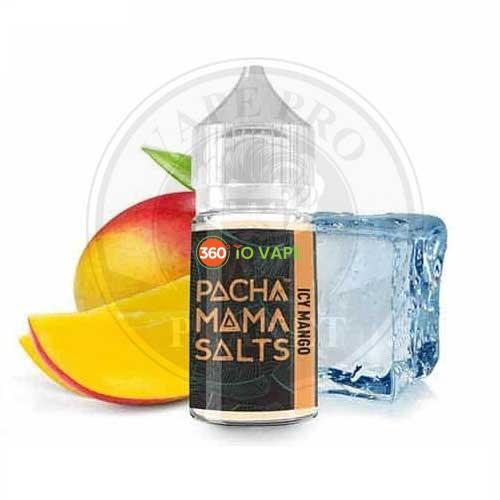 Icy Mango Salt Nic by Pachamama, 30ml, 25mg