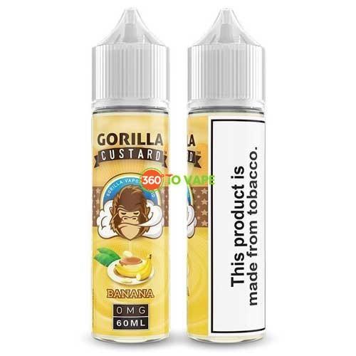 Gorilla Custard Banana 60ml