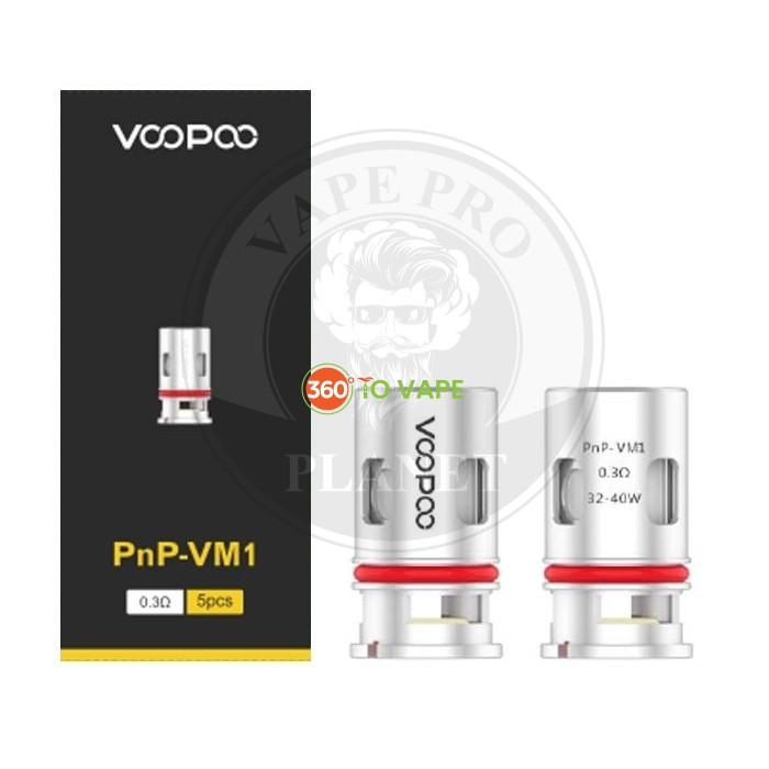 Voopoo Pnp VM1 Coil 0.3 ohm 5pcs/pack