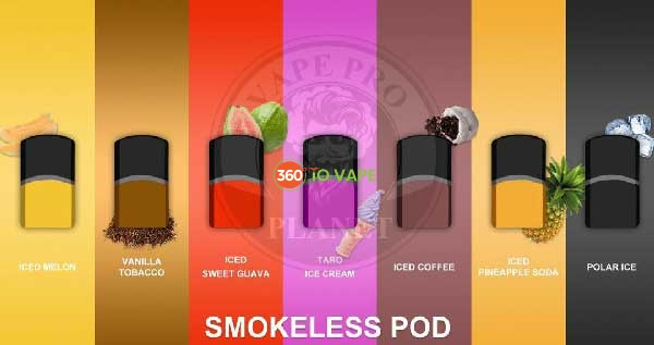 Smokeless Pods 4/pack