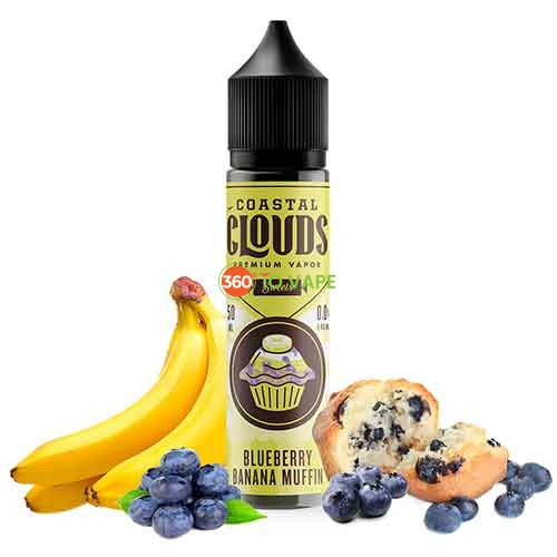 Coastal Clouds - Blueberry Banana Muffin